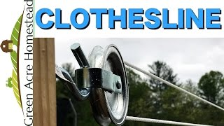 Quick and Easy Clothesline