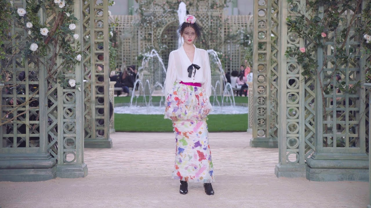 Chanel Fashion Show  Youtube