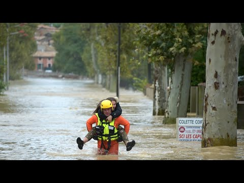 حالة تأهب قصوى جنوب فرنسا بعد سقوط قتلى جراء فيضانات غير مسبوقة  - نشر قبل 2 ساعة