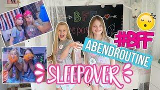 BFF ABENDROUTINE 😴 SLEEPOVER 10 Tipps gegen Langeweile MaVie Family
