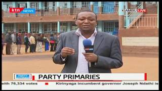 Jubilee party primaries kick off smoothly with less delays in Kiambu
