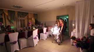Свадьба. Тортик. Валерий и Нина. Бобруйск.