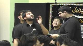 Anjuman Zulfiqar-e-Haidery MD Shab-e-Dari at Idara-e-Jaferia MD USA Part5 12-15-2012 1st Safar 1434