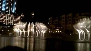 Dubai Mall Music Fountain