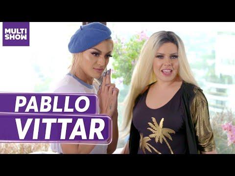 Maquiagem  Pabllo Vittar + Sharon Spears  Fernanda Souza  Vai Fernandinha