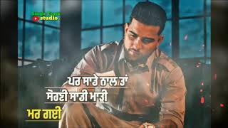 Chithiyan Karan Aujla Leatest Punjabi song WhatsApp status video 2020