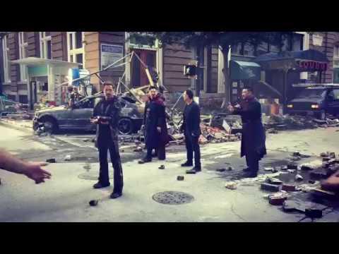 BTS Avenger Robert Downey Jr., Benedict Cumberbatch, Mark Ruffalo, Benedict Wong