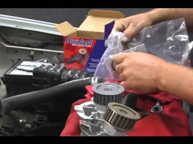 How To Replace A Water Pump Youtube
