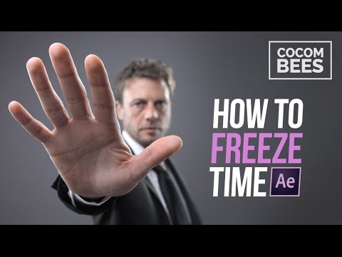 How to Freeze Time with After Effects ᴴᴰ (Mannequin Challenge)
