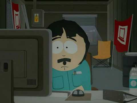 South Park Randy Over Logging Spooky Ghost