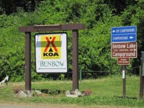 Benbow KOA and Fast forward of Avenue of The Giants