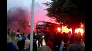 FC Twente sv 4 Ever Red Weerselo presentatie supportersbus