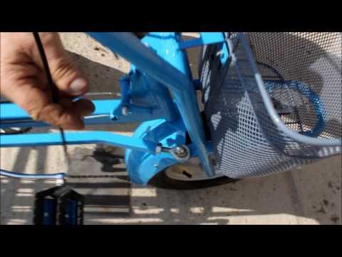 Велосипед для детей с ДЦП, велотренажер, разборка для транспортировки