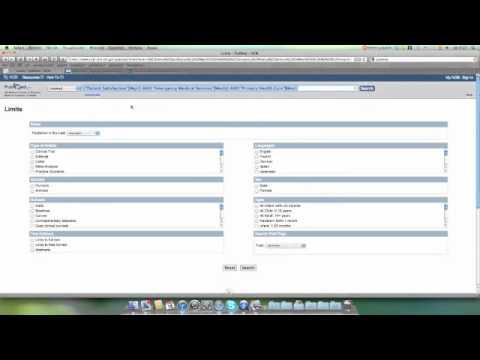 tutorial: búsqueda en pubmed usando términos MeSH