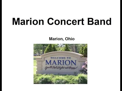 Concert: 5-1-2011, The Marion Concert Band and the Palace Big Band