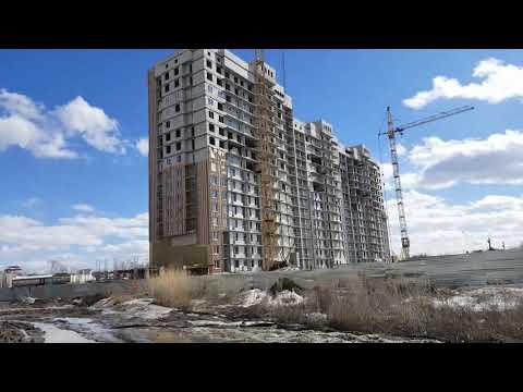 Новостройки Барнаула. Улица Балтийская. 2016-2019 год.