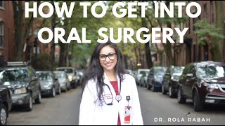 How to be an OMFS top applicant (surgery residency)
