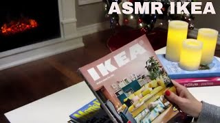 🎧 ASMR 💤 Flipping through 📕 IKEA, Decor and Cooking Magazines 📕 by the Fireplace 💤 - No Talking