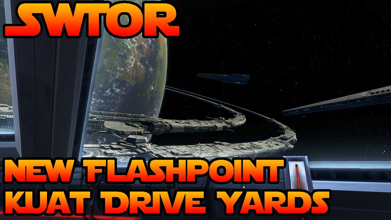 SWTOR - New Flashpoint - Kuat Drive Yards - YouTube