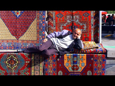 CNN The Silk Road: Armenian carpets