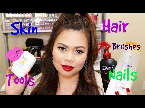 Favorite Skin, Hair and Nail Products of 2014