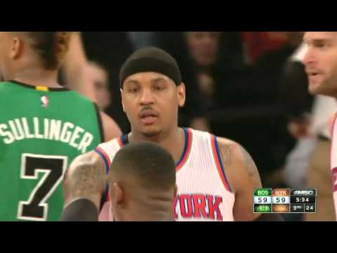 Boston Celtics vs New York Knicks | February 2, 2016 | NBA 2015-16 Season