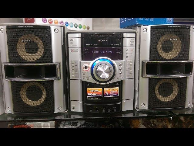 Sony MHC-GZR7D