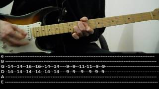 RHCP - So much I (lesson w/ tabs)