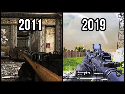 Evolution Of Android Call Of Duty FPS Games 2011-2019