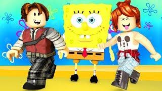 ROBLOX-WHERE'S OUR CRAB BURGER? (SpongeBob's Escape)
