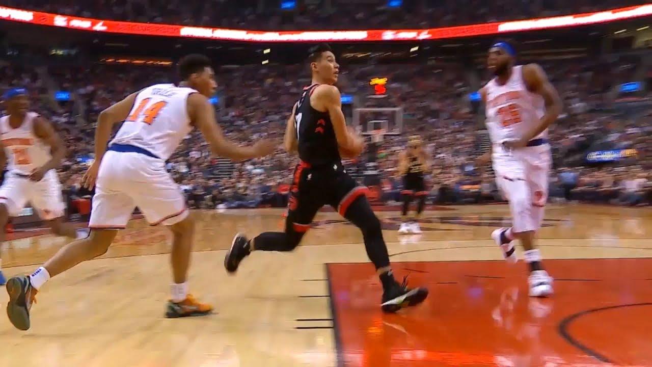 Jeremy Lin Raptors: Knicks At Raptors 3/18/19