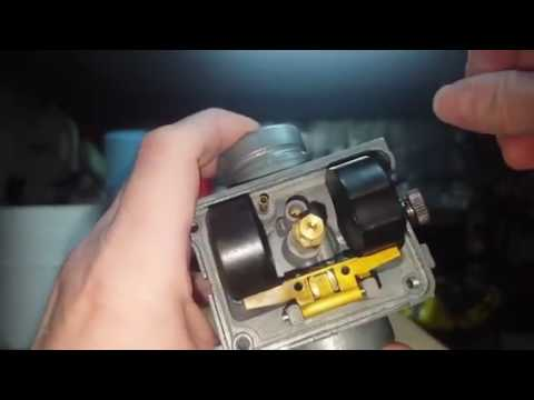 How to set the float height on a carburetor