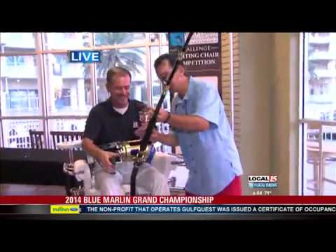 Blue Marlin Grand Championship: 'The Fighting Chair'