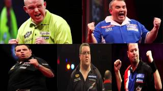 PDC Grand Slam Of Darts 2014 - THE DRAW