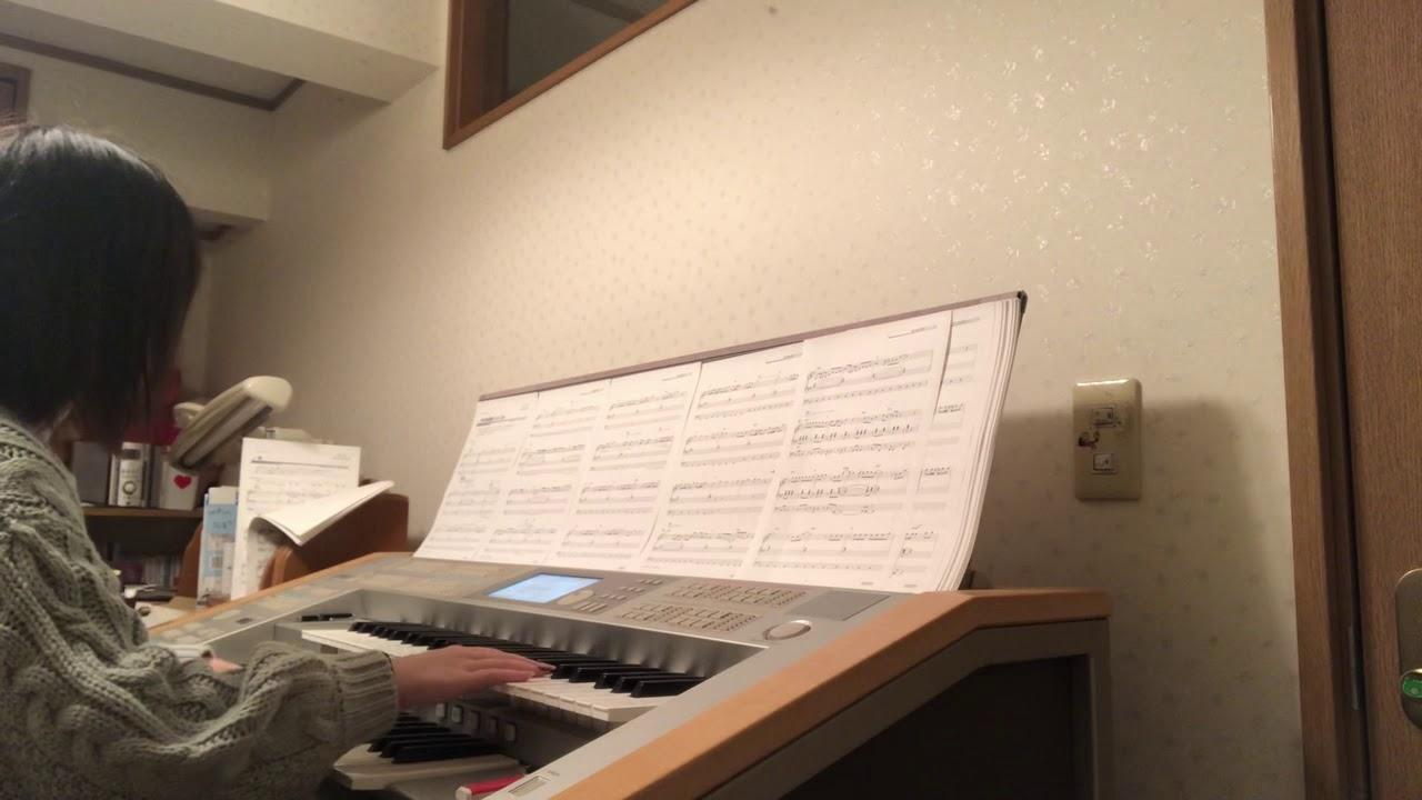 帰り道は遠回りしたくなる / 乃木坂46 エレクトーンで弾いてみた