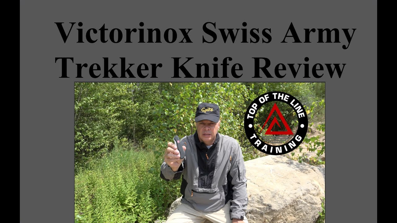 Victorinox Swiss Army Trekker Knife Review Youtube