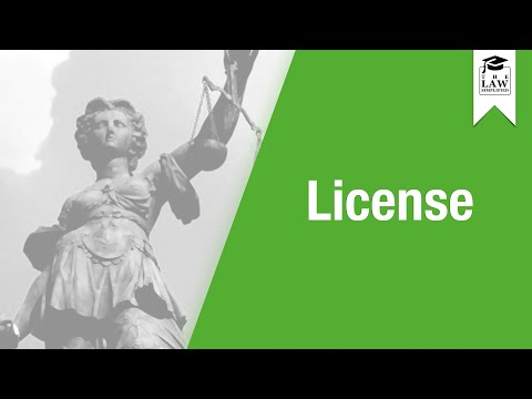Property Law - License