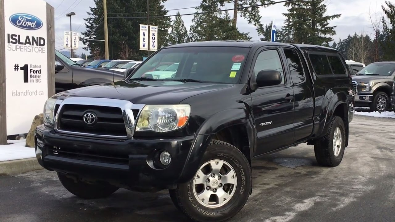 2016 Toyota Tacoma Access Cab >> 2007 Toyota Tacoma SR5 V6 Access Cab+ Hornby Topper Review | Island Ford - YouTube
