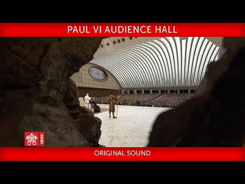 Pope Francis-Paul VI Hall- Audience with the National Civil Protection Service 2018-12-22