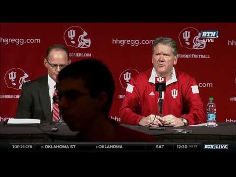Indiana Announces Kevin Wilson Has Resigned