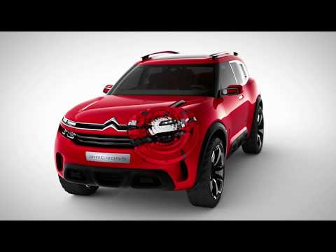 New Citroën C5 Aircross SUV Design Legacy