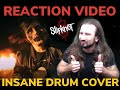 Reaction Video - Dragonforce Drummer Reacts To Psychosocial Slipknot  Girl Special Drum Cover