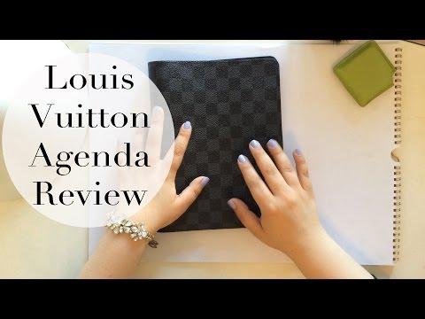 Louis Vuitton Desk Agenda Review Filofax Comparison Refill Options