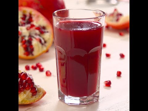 How to Cut & Juice a Pomegranate