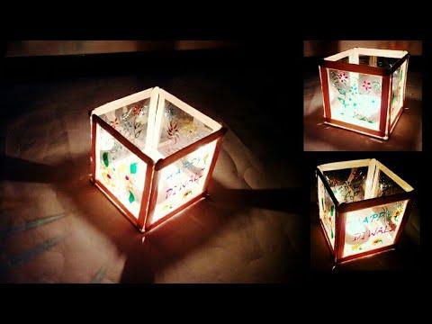 Diya And Candle Holder Diwali Decoration Ideas Diya Stand Making