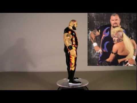 WWE Bam Bam Bigelow Classic Superstars Collector Series #9 Jakks Pacific Action Figure Review HD
