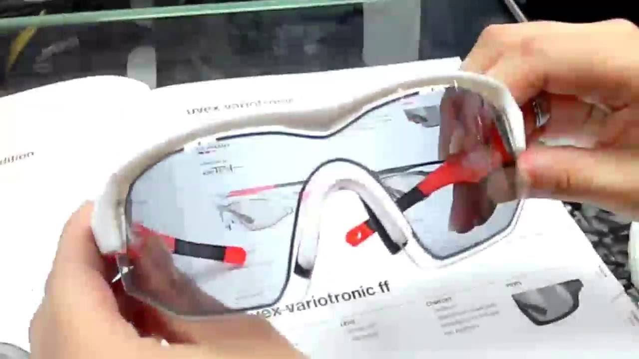 cacd102e48d uvex variotronic lcd technology glasses - YouTube