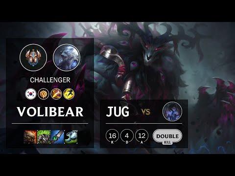 Volibear Jungle vs Sylas - KR Challenger Patch 10.20