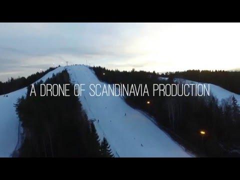 Drone of Scandinavia | LVC, Ekebyhovsbacken | 4K