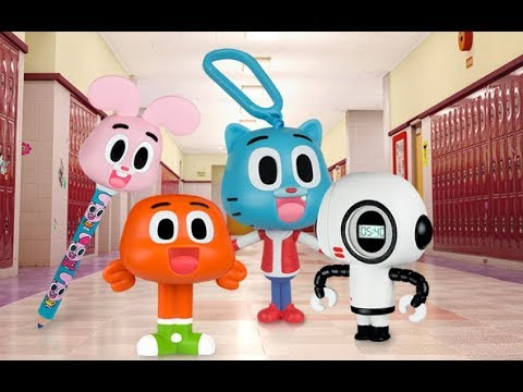 The Amazing World of Gumball United Kingdom/Great Britain Mcdonalds Happy Meal Toys March 2018